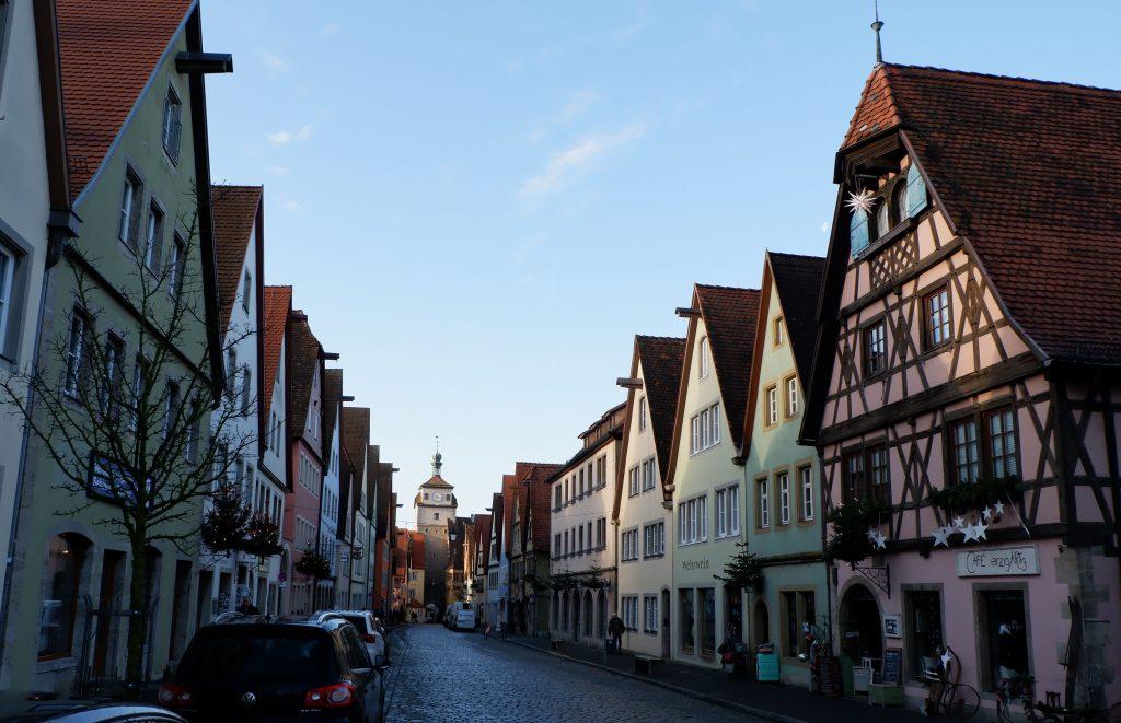 Rothenburg ob der Tauber en Navidad