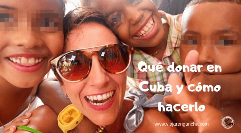 Qué donar en Cuba y cómo hacerlo