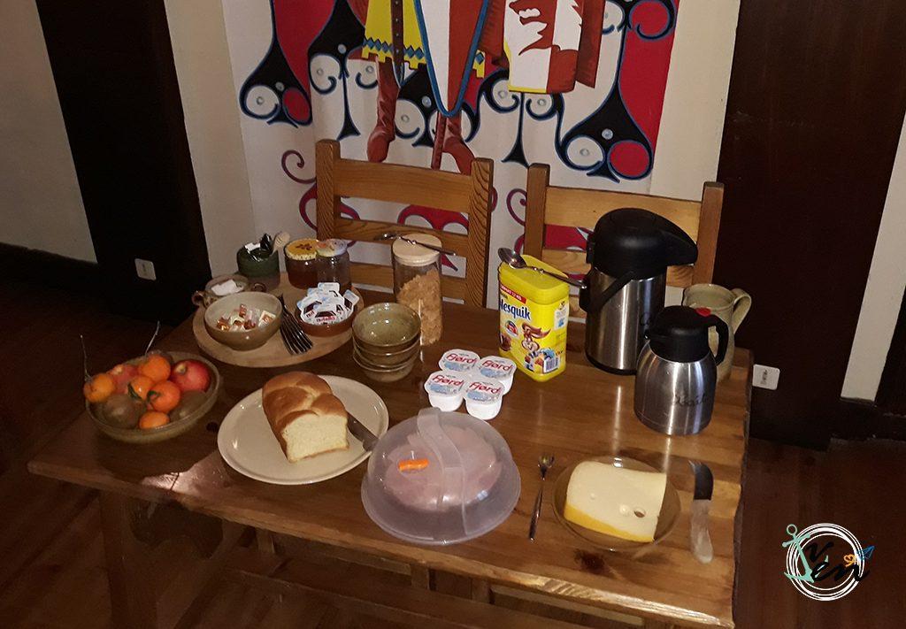Desayuno en Hotel L'Escuelle des Chevaliers
