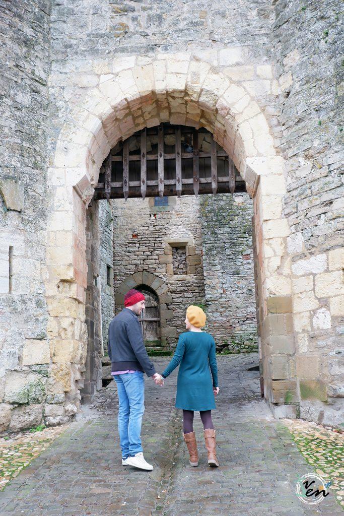Puerta 2 (Porte de la Jane, siglo XIII)