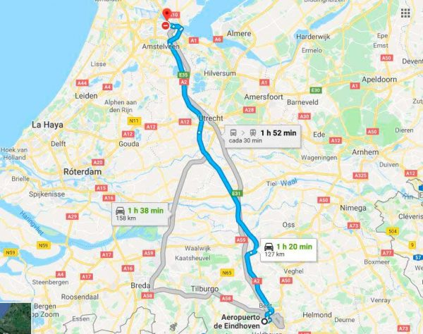 mapa_eindhovenamsterdam