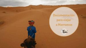 Documentación para viajar a Marruecos