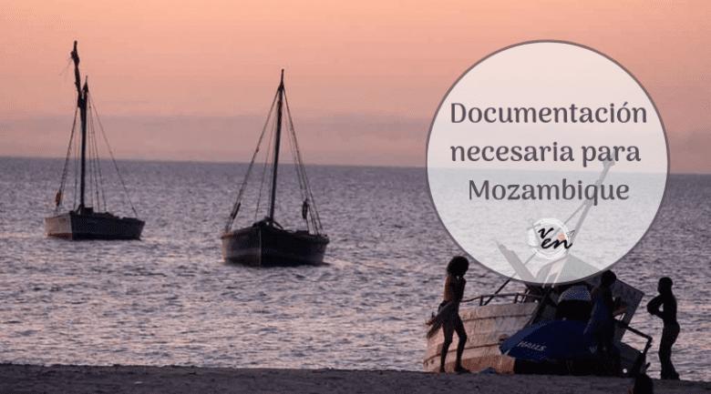 Documentación necesaria para Mozambique