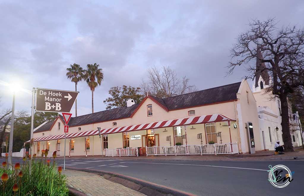 dónde comer en Stellenbosch