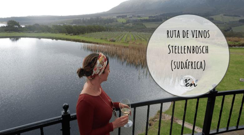 ruta de vinos stellenbosch sudáfrica