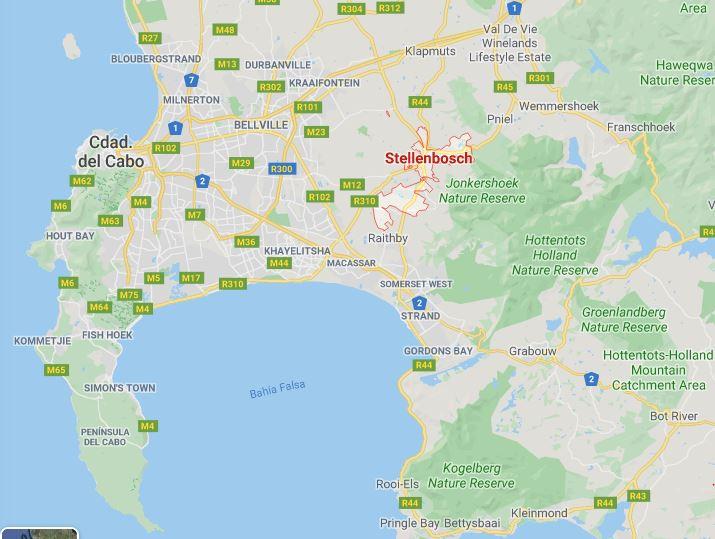 dónde dormir en Stellenbosch