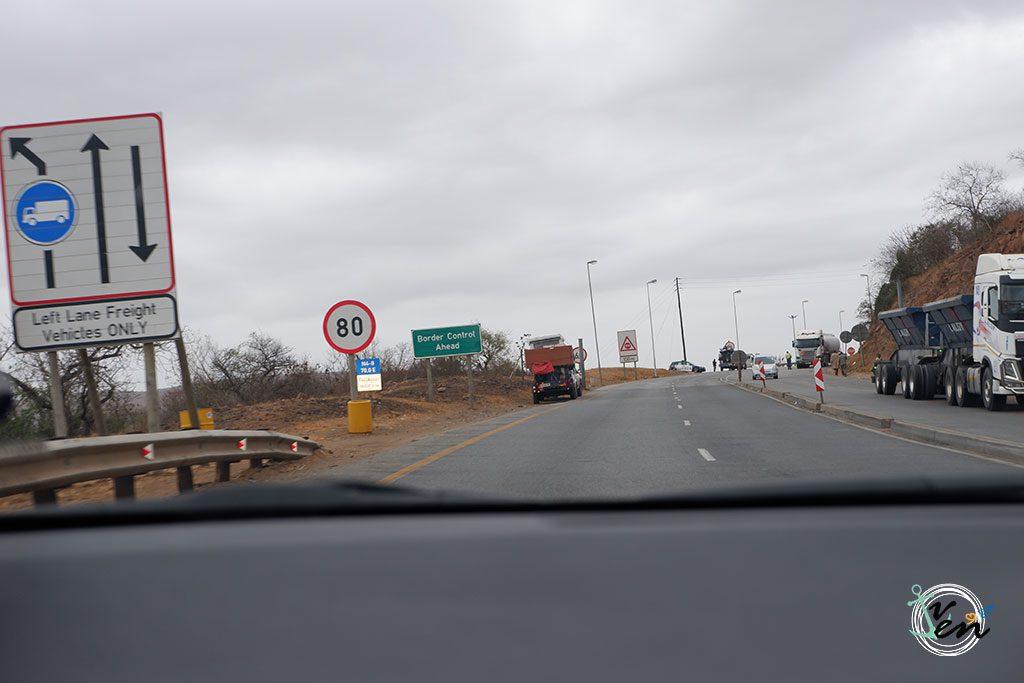 cruzar frontera de Sudáfrica a Mozambique