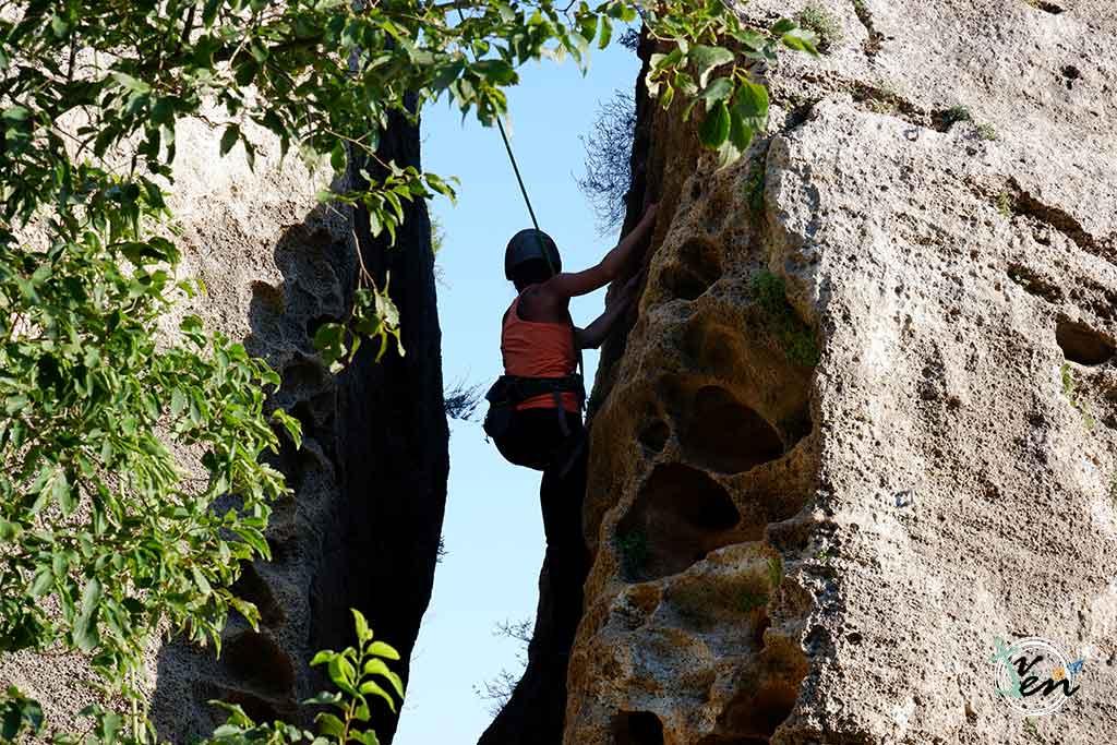 Iniciación a la escalada con Totalhike