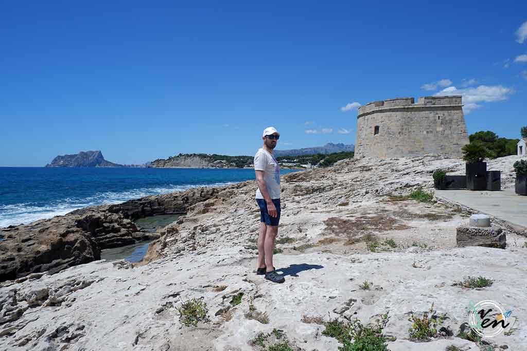 castillo moraira