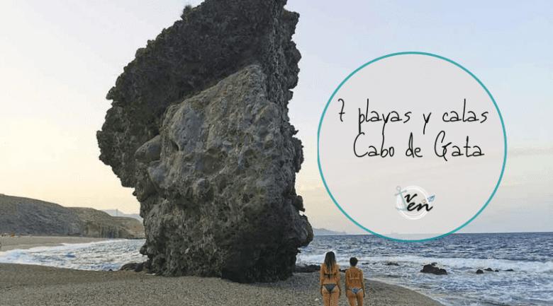 7 playas y calas cabo de gata