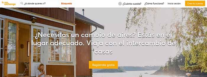 Intercambiar casa con HomeExchange